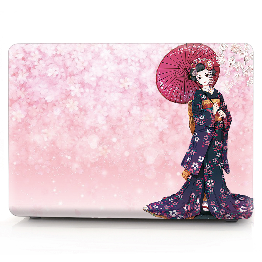 Image 2 - Kimono color printing notebook case for Macbook Air 11 13 Pro Retina 12 13 15 inch Colors Touch Bar New Air 13 or New Pro 13 15-in Laptop Bags & Cases from Computer & Office