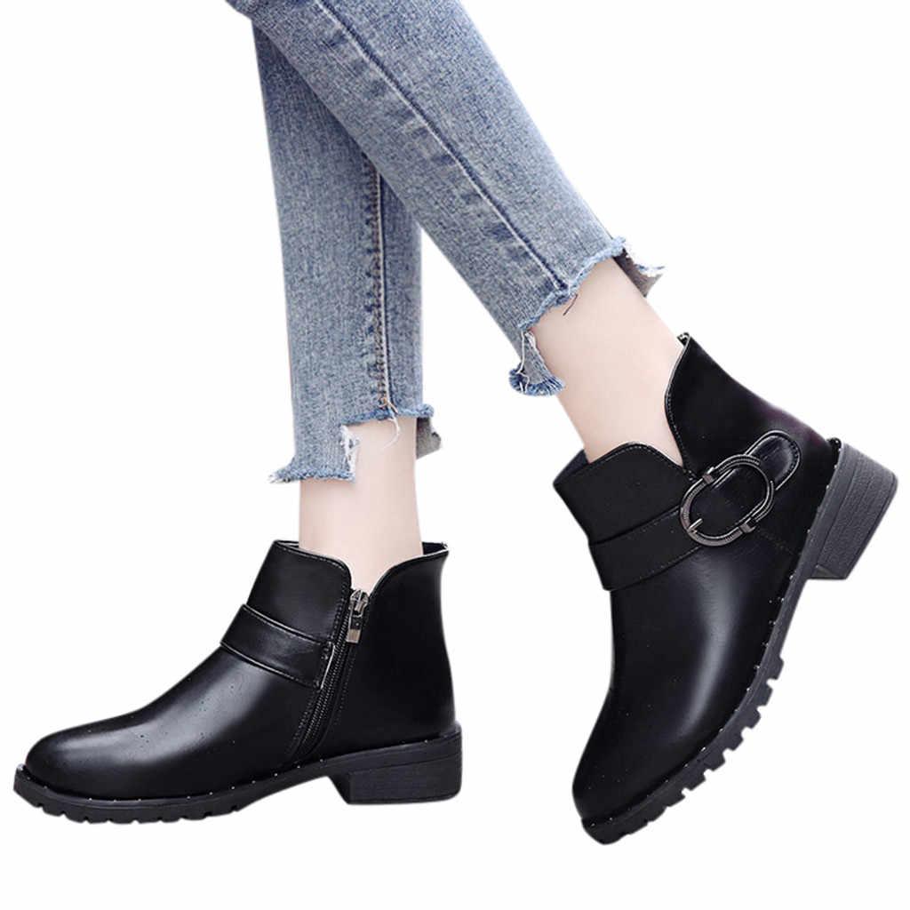 ผู้หญิงแบนรองเท้า Elegant รอบ Toe Lace-Up Casual รองเท้าหัวเข็มขัดสายคล้องข้อเท้ารองเท้าสำหรับรองเท้าผู้หญิง zapatos mujer