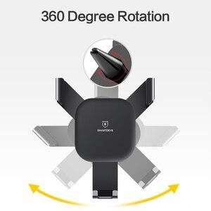 Image 3 - SmartDevil حامل هاتف نقال للسيارة للهاتف الجاذبية رد فعل الهواء تنفيس جبل حامل هاتف الخليوي حامل هاتف الوقوف ل سامسونج Xiaomi