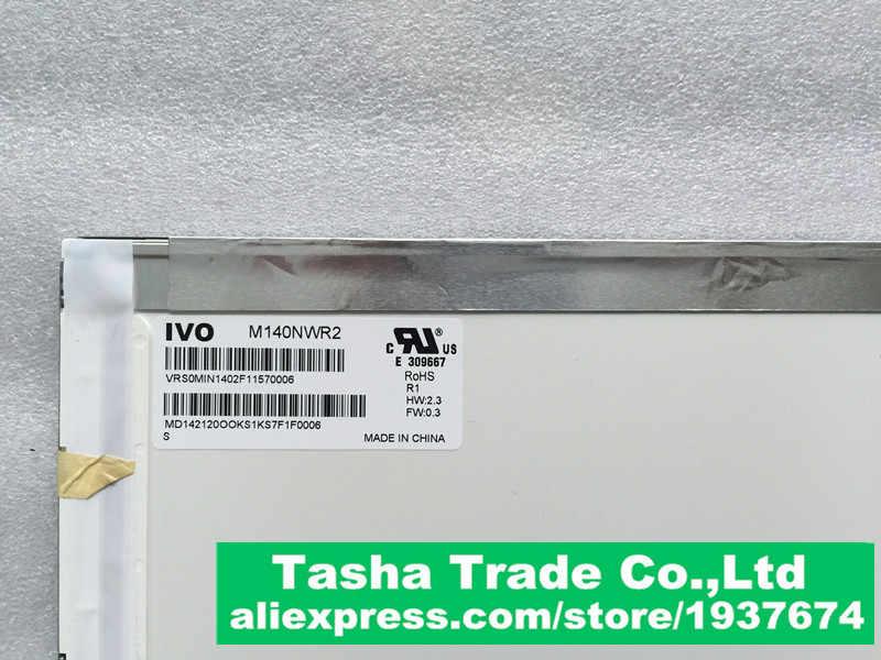 Для Lenovo G405 ЖК-дисплей Экран Дисплей M140NWR2 R1 Ivo 14.0 LVDS 40 выводов 1366*768 ЖК-дисплей Глянцевая тестирование перед доставка.