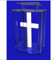 Environmental Clear Acrylic Lectern Glass Lectern For The Church Plexiglass Acrylic Lectern