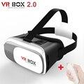 "Те VR Box 2.0 II 3d видео Очки + Контроллер bluetooth Google Картон Виртуальная Реальность раскол 3.5 ""-6.0"" смартфон"