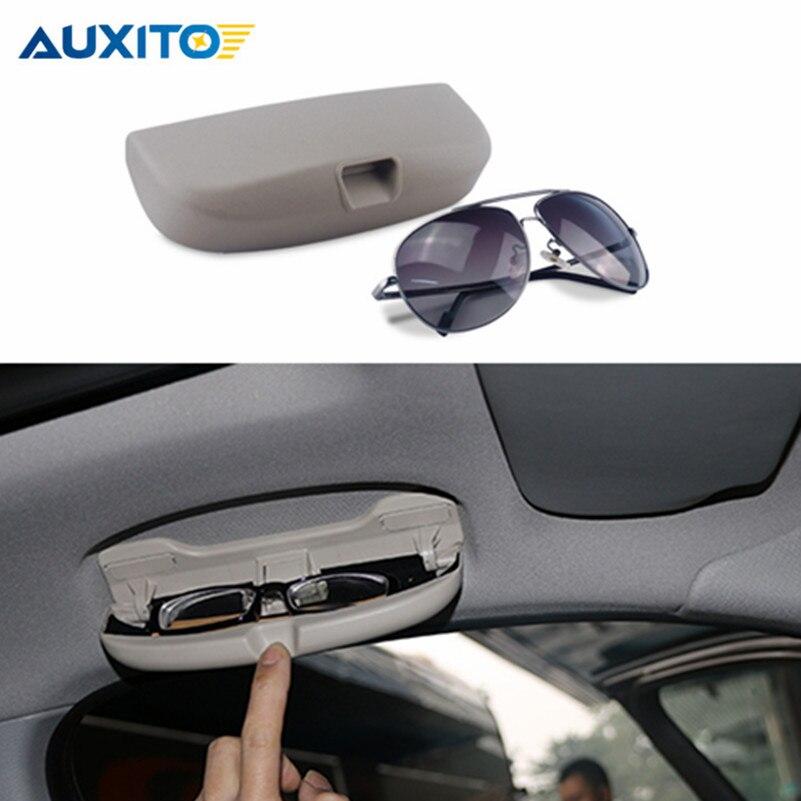 Car Sunglasses Storage Box Holder Case For Mercedes Benz w203 w204 w214 w210 w205 w202 w213 w201 AMG CLA A ML GLA CLK Class очки мерседес