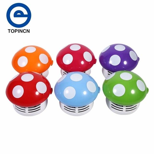 vente chaude mini aspirateur 6 couleurs mignon mini champignon