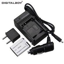 Digital Boy 1pcs Battery Charger EN EL12 EN EL12 ENEL12 Rechargeable Camera Battery For Nikon S8200