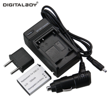 Digital Boy 1pcs Battery+Charger EN-EL12 EN EL12 ENEL12 Rechargeable Camera Battery For Nikon S8200 S9100 S9200 S9300 P300 P310