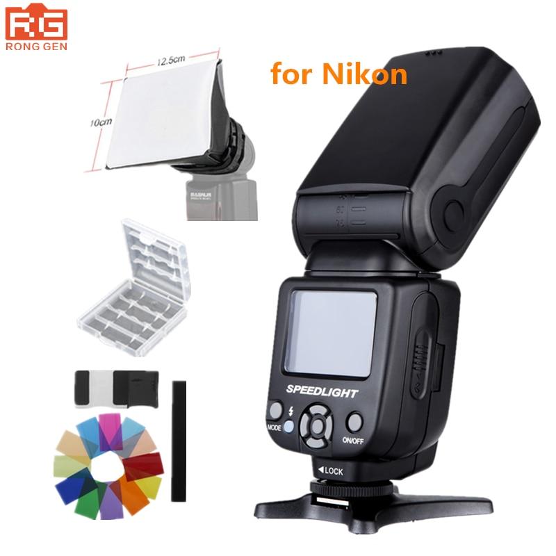 TRIOPO TR 985N Speedlite i TTL Camera Flash High Speed Sync 1 8000s TFT for Nikon
