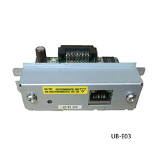 Einkshop Used Ethernet interface For Epson TM U220B e03 e04 220PB 220PD 220PA TM T81 T70 T90 T86L T82II T88III T88IV T88V c32c823991 a371 ub u05 m186a usb port interface card tm t88v h6000iv t88iv t81 t70 188a u220 u220pb u220pd t884 m129h m226f 88ii