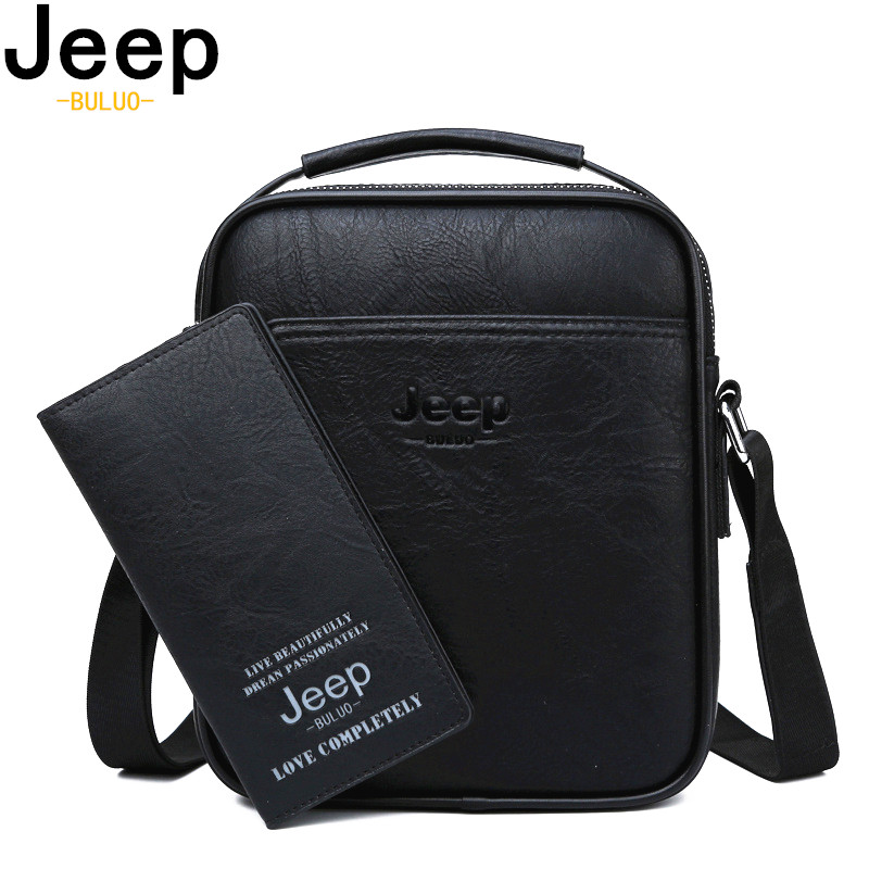 JEEP BULUO Brand High Quality Split Leather Large Capacity Man Bag Men Messenger Bags Crossbody Shoulder Tote Bags For Male NewJEEP BULUO Brand High Quality Split Leather Large Capacity Man Bag Men Messenger Bags Crossbody Shoulder Tote Bags For Male New