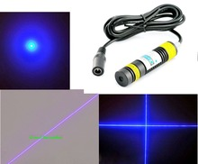 High power blue-violet laser module 405 nm 300 mW blue-violet laser light can Lit cigarettes Lit matches
