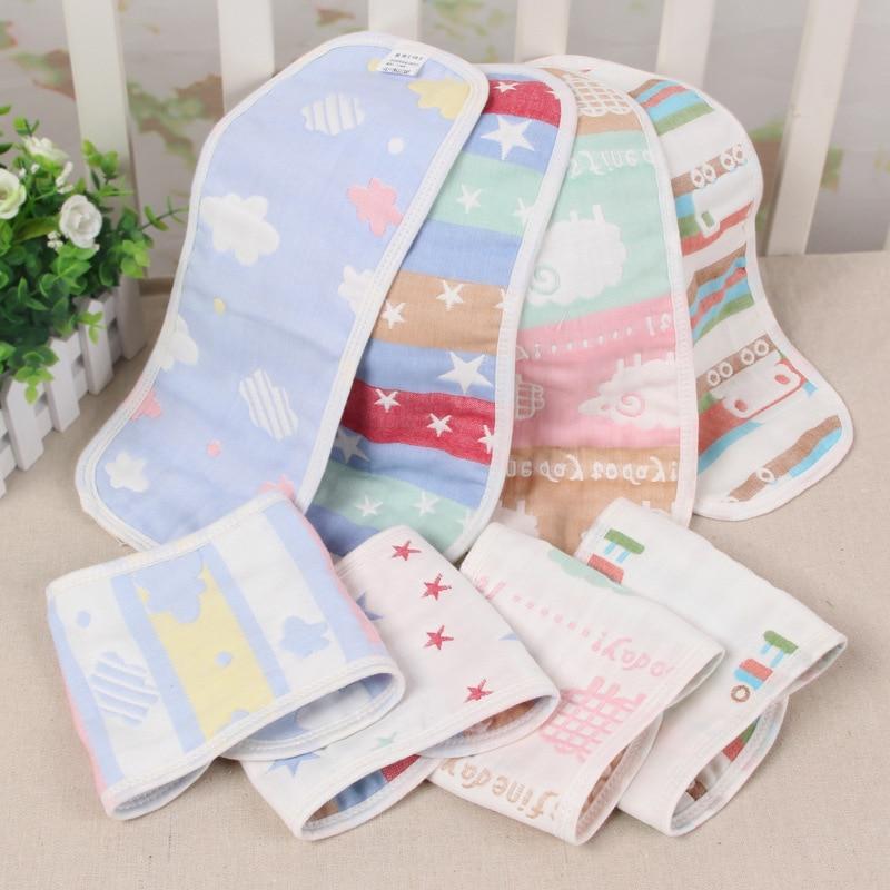 10 Pcs Reusable Pure Cotton Baby Cloth Diaper Nappy Liners Insert 3 Layer lot EC