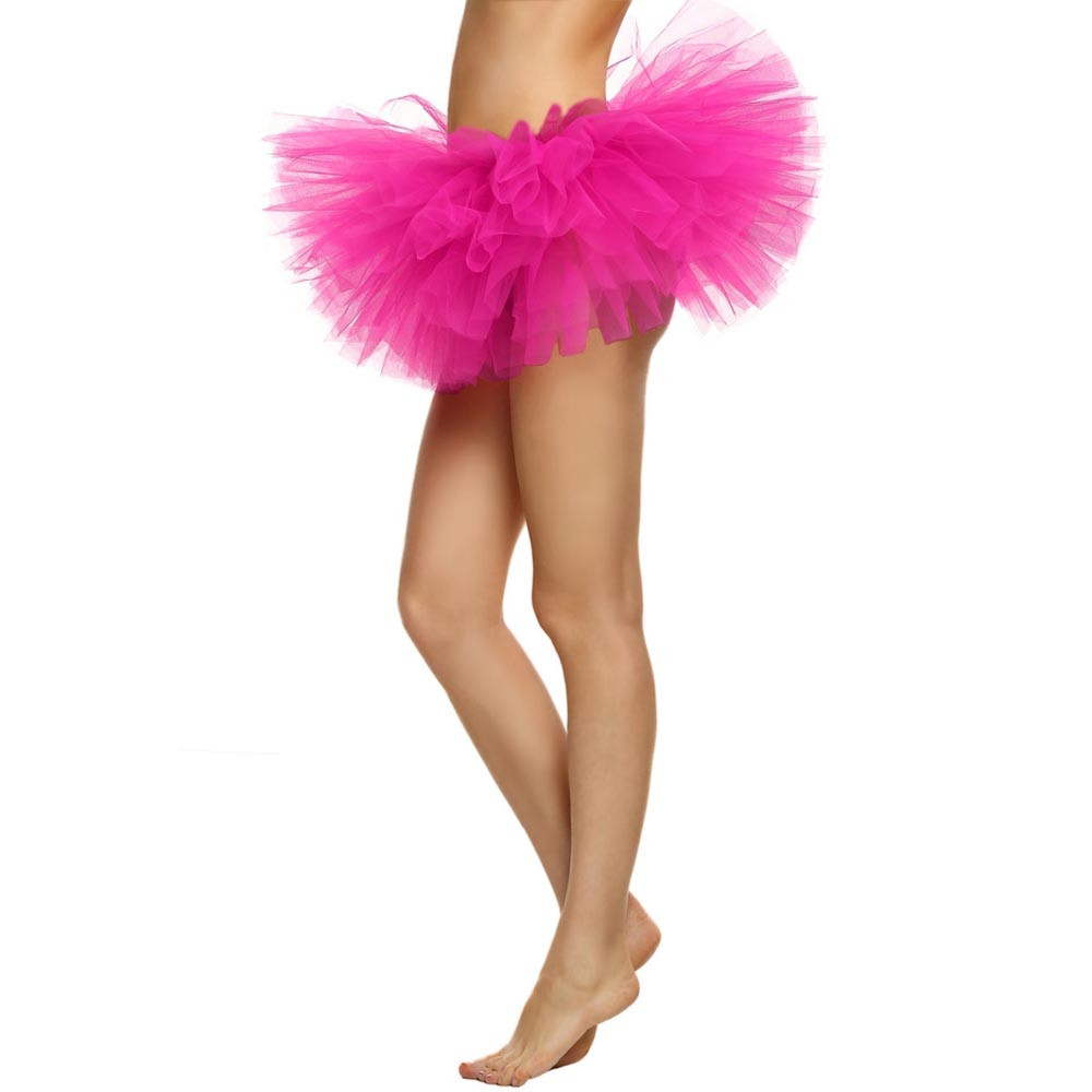 2019 MAXIORILL NEW Hot Sexy Fashion Pretty Girl Elastic Stretchy Tulle Adult Tutu 5 Layer Skirt Wholesale T4 79