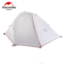 Naturehike 1 - 2 Man Camping Tent Outdoor 1 -2 Person Ultralight Hiking Camp Tents 1.25kg PU 4000mm