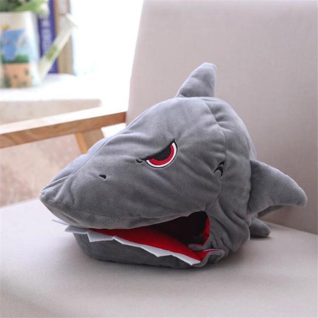 Плюшевая Шапка Акула
