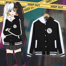 Adult Thick Cotton Anime Danganronpa Monokuma Hooded Hoodie Jacket Costumes Cosplay For Woman Man Plus Size - DISCOUNT ITEM  27% OFF Novelty & Special Use