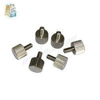 10 Pcs M2/M2.5/M3/M4 A2 304 Daumen Schrauben Plain Typ Metric Gerändelt Kopf Schrauben|Schrauben|   -