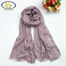 Viscose Long Shawls Pashminas Thin