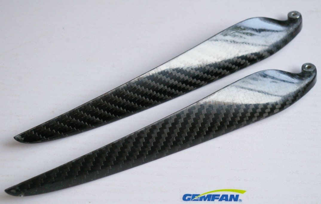 1 Pair 18 inch Props Folding Carbon Fiber Gemfan 18x10 folding propeller 210mm for Airplane Multi-Copter