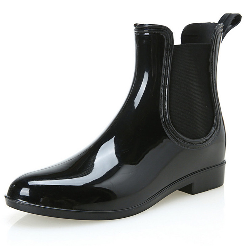 Aliexpress.com : Buy New Fashion Rubber Rain Boots Women Shoes ...