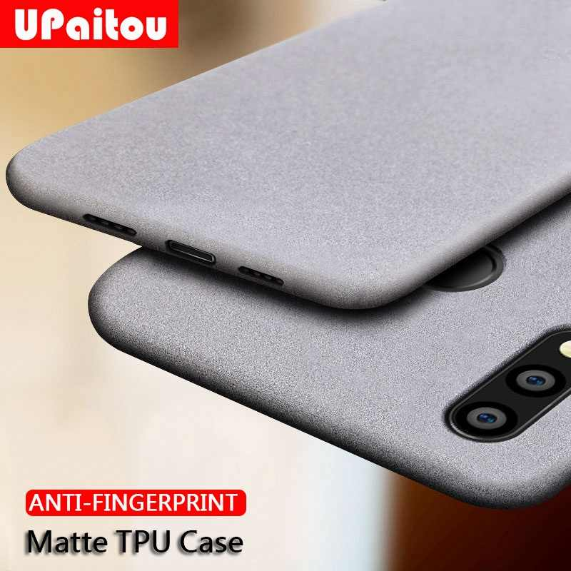 UPaitou Case for Huawei Honor Play 8X Max 8C 8S 8A Note 10 20 Pro Lite 10i Anti Fingerprint Case Soft Matte Ultra Thin TPU Case