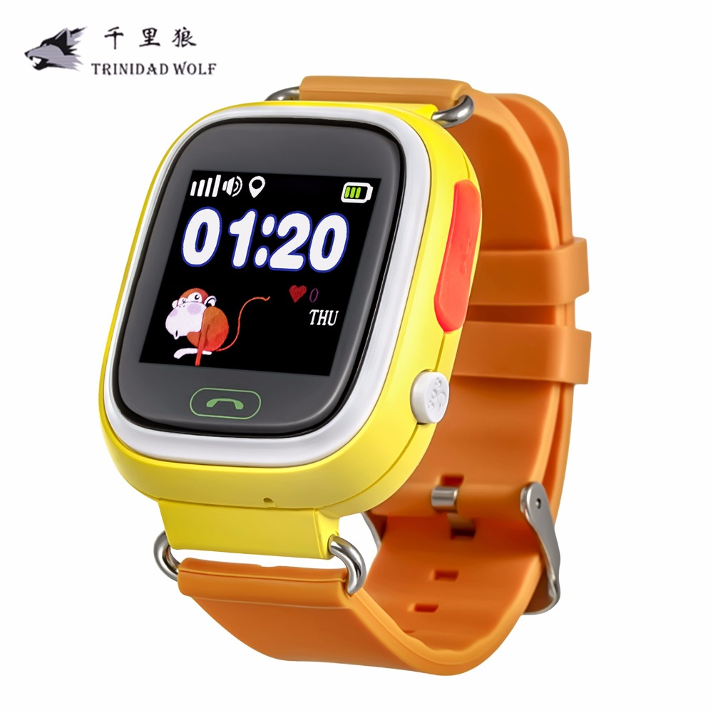 Q90 Kid Safe Anti Lost Alarm Monitor GPS Q90 Touch Screen WIFI Positioning Kids Watch SOS Call Location Finder Device Tracker children baby gps smart watch for kids safe q90 sim wifi touch screen sos call location tracker vibrate anti lost remote monitor