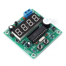 4.5-12V Multi-function 4 Bits Digital Electronic Clock Timing Control Board Real Time 4Bit LED Digit  Dispaly