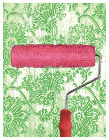 7inch Patterned Paint Roller Texture Paint Roller for Wall