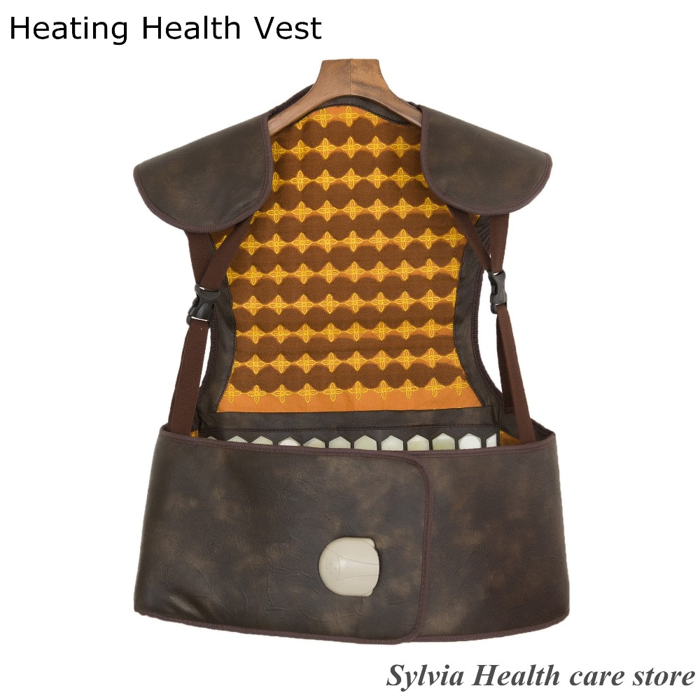 2017 NEW hot presents! heating tourmaline heating back support Natural Jade heating therapy belt healthcare heating back vest free shipping men women tourmaline self heating magnetic therapy vest waistcoat back protection back support
