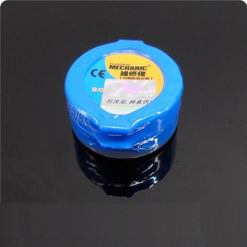 1PCS MECHANIC Reparing Solder Soldering Paste XG-20 20g Sn63/Pb37 25-45um brand new 2pcs lot 100% hong kong mechanic xg 40 bga solder flux paste soldering tin cream sn63 pb37 25 45um xg z40