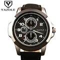 Relógio do esporte dos homens relógios yazole 2017 hodinky top famosa marca de luxo masculino relógio de quartzo relógio de pulso de quartzo-relógio relogio masculino