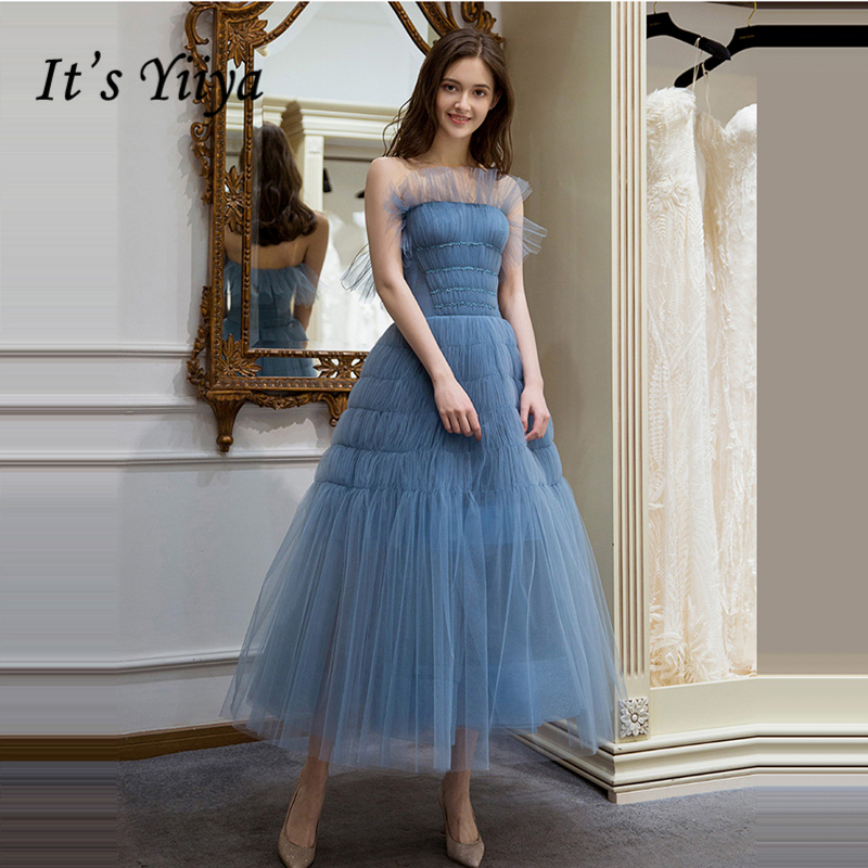 It's Yiiya   Prom     Dresses   For Plus Size Girls Sleeveless Strapless Fashion Designer Elegant Party   Dresses   Formal   Dresses   LX1053