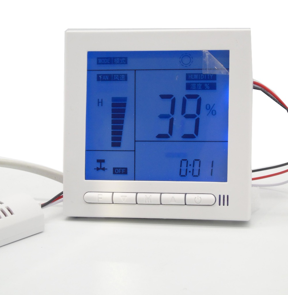 Voltage 110 240 dehumidification intelligent controller Humidity sensor with Temperature display function