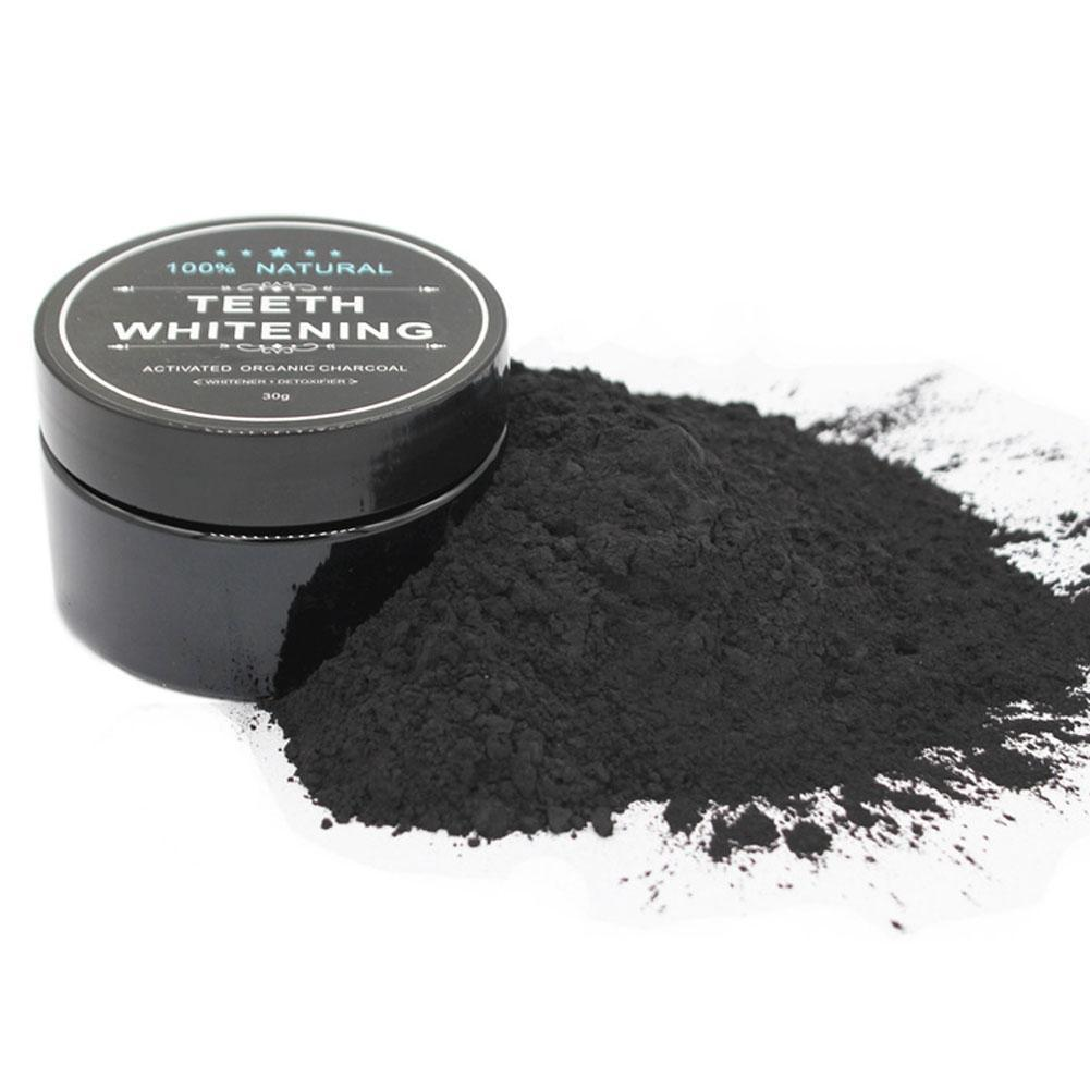 Daily Use 2018 Coconut Shell Activated Charcoal Teeth Whitening Organic Natural Bamboo Charcoal Cream Dental Wash Powder