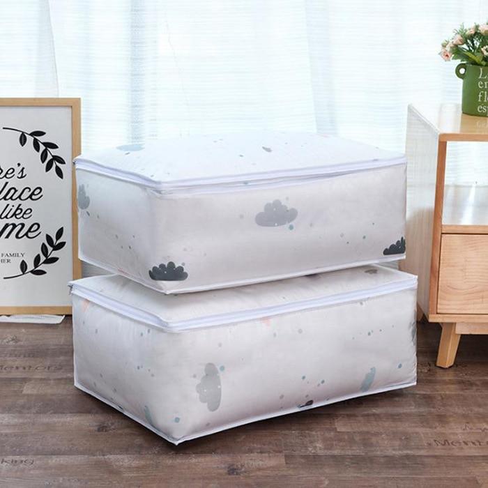 Модный хит, хозяйственные вещи, сумки для хранения, органайзер, одежда, отделка одеяла, мешок для пыли, одеяло, s мешочек, моющиеся стеганые сумки - Цвет: 4