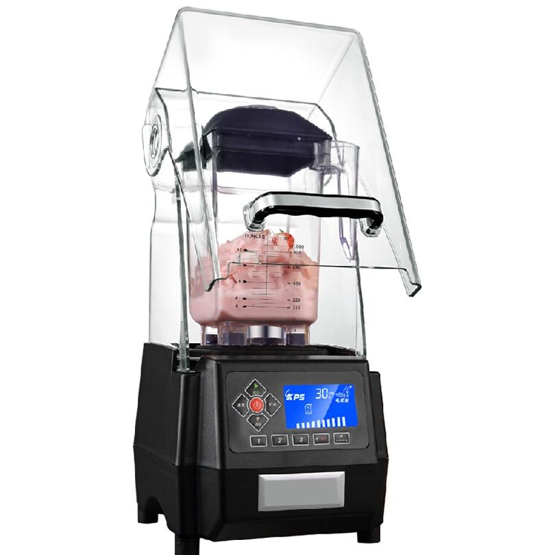 Professional New Design Manual Milkshake Scilent Ice Smoothie Mixer Blender