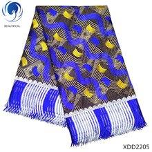 Beautifical latest african guipure wax fabric lace fabrics 6 yards/piece polyester match XDD22