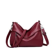 Vintage Women Bags Female Leather Handbags Ladies Luxury Crossbody Bags For Women Shoulder Bag Designer Sac A Main Femme C864