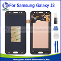 100% testado para samsung galaxy j2 j200 j200f j200y 2015 lcd screen display toque digitador assembléia repalcement preto + ferramentas