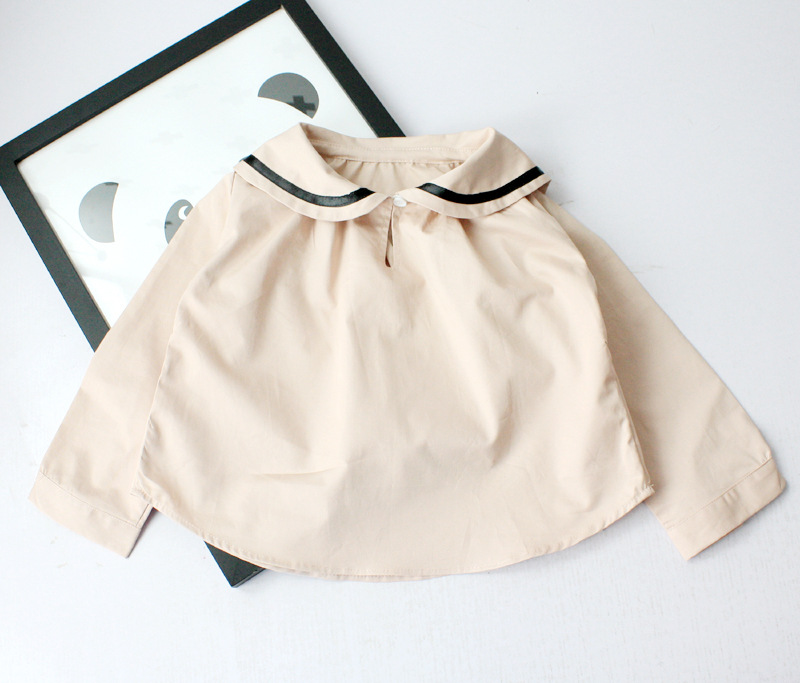 T-Shirt Toddler Pullovers Long-Sleeve Sutumn Girls Kids Cotton Children New Brand Wild