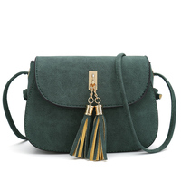 Nubuck Tassel Women Messenger Bags Vintage Designer Handbags High Quality Shoulder Bag CrossBody Women S Sale