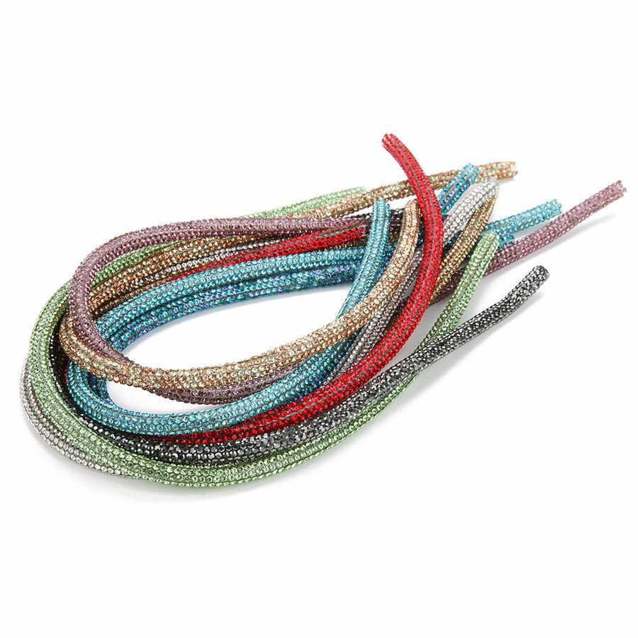 XINYAO 40 см * 6 мм Мягкая трубка шнур веревка с Стразы Смолы шнуры для Diy браслет ювелирных изделий