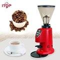 ITOP 110 В 220 В Коммерческая кофемолка Электрический жареный зерновой бобы шлифовальный станок