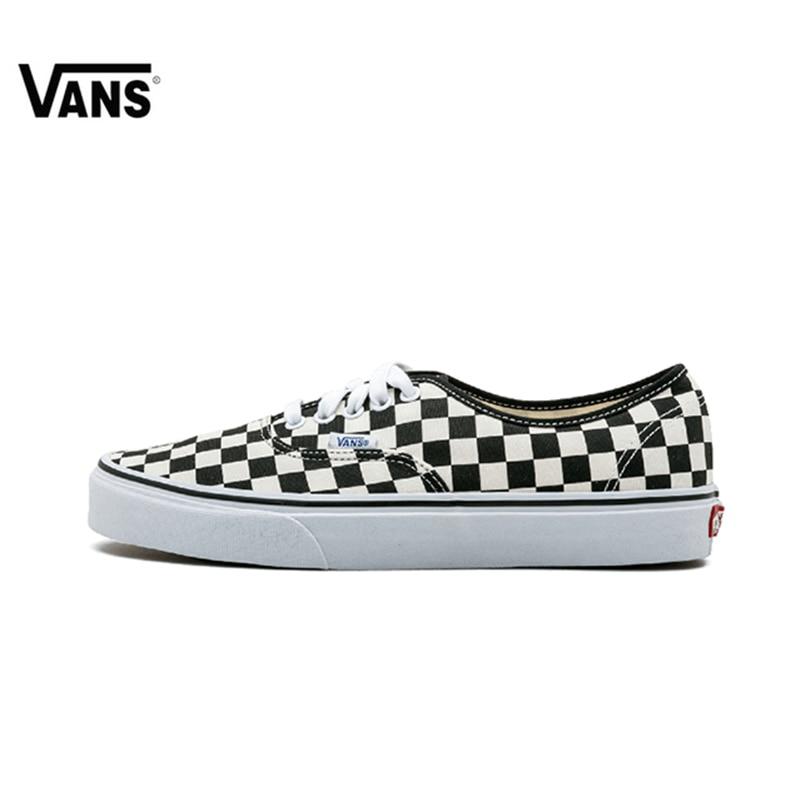 Nuovo Arrivo originale Vans Uomini & Delle Donne Classic Authentic Low-top Scarpe Da Skateboard COSTA D'ORO scarpe Da Ginnastica di Tela Confortevole