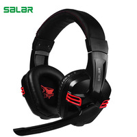 Salar KX236 Stereo Gaming Headset Over Ear Game Headphones Wired With Microphone Quality USB Headband Headphone