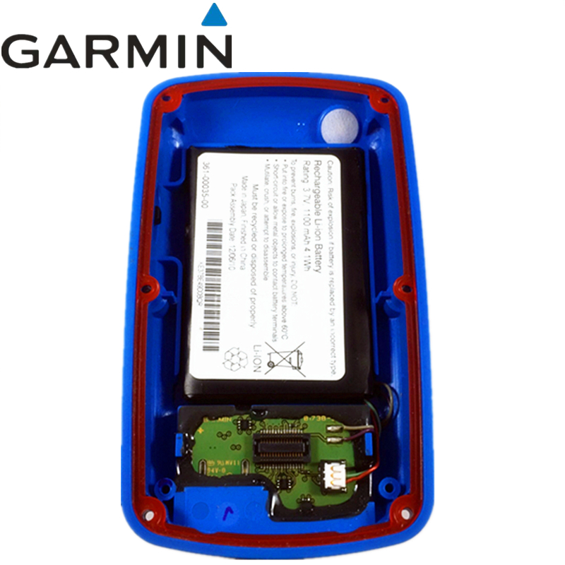 Original Blue rear cover for GARMIN EDGE 800 bicycle speed meter back cover With Battery Repair replacement shell