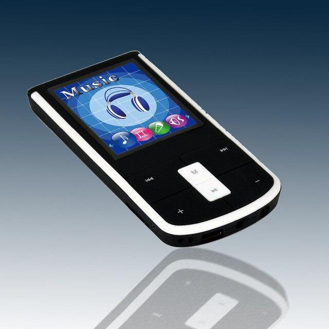 Портативный Спорт MP3 Плеер 1.8 дюймовый экран 4 ГБ памяти MP3 Музыка тонкий книги плеер Видео TF слот для карты Mini MP3 плеер