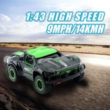 GizmoVine Mini RC Car 25KM H High Speed 1 43 Car Radio Controled Machine RC truck