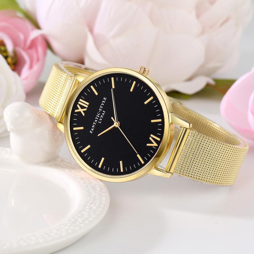 Lvpai Watches Women  Stainless Steel Bracelet  Analog Quartz Watch Luxury Brand Casual  Wristwatches Montre Femme 18feb24 #3