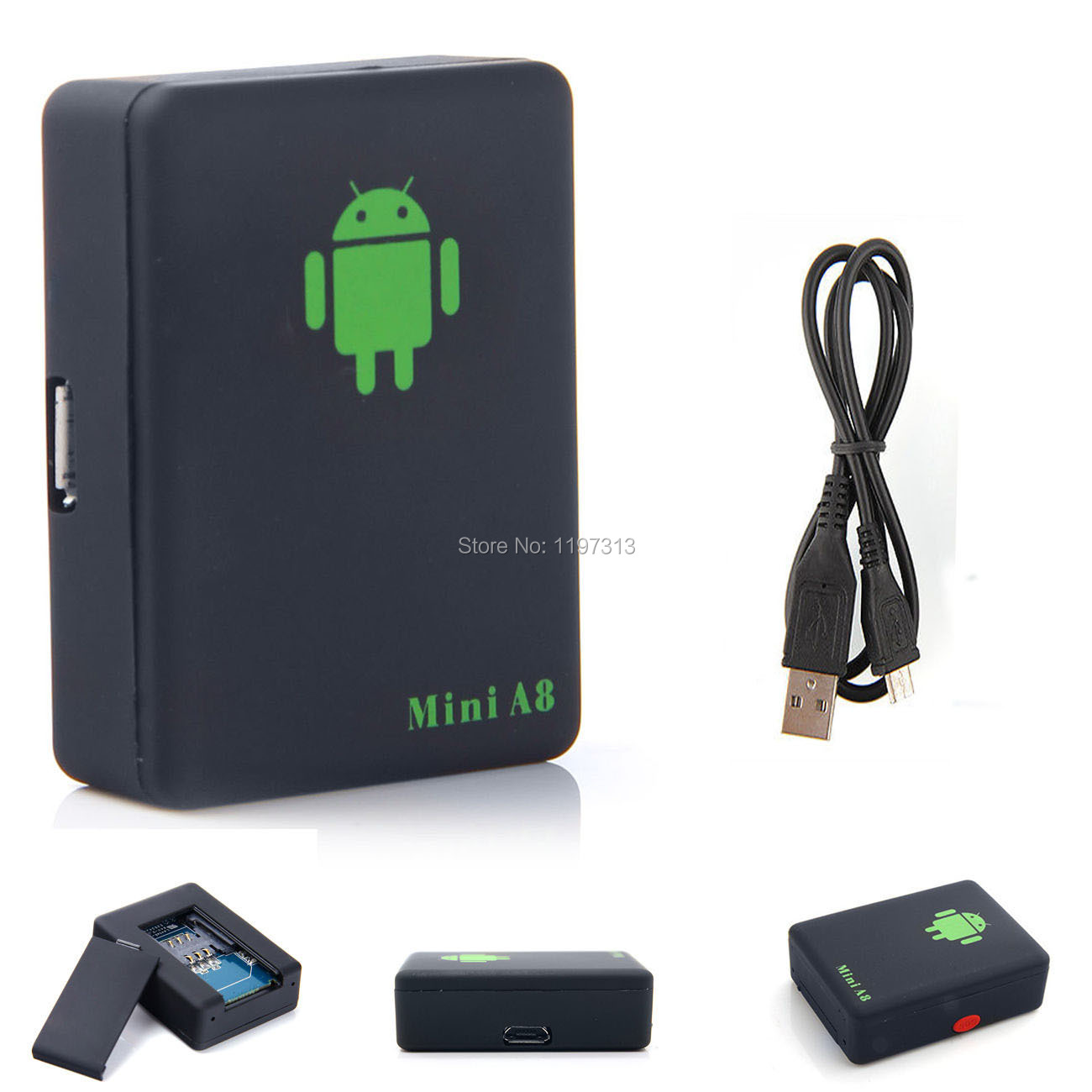 Mini Usb Listening Tracker Box Spy Surveillance Device Gsm