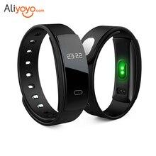 QS80 Bluetooth Smart Браслет сердечного ритма мониторинг сна фитнес-трекер Водонепроницаемый IP67